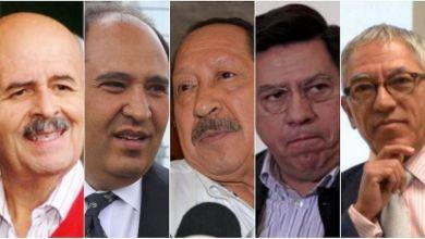 Los supirantes, ex gobernadores