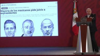 Andrés Manuel López Obrador, AMLO, consulta popular, ex presidentes
