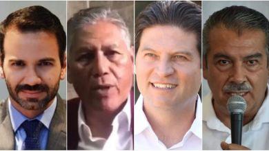 Los suspirantes, Yankel Benítez, Humberto Arróniz, Alfonso Martínez, Raúl Morón