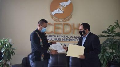 CEDH, Anselmo Ruiz, Uble Mejía Mora