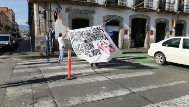 CNTE,bloqueo, Morelia