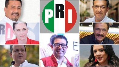 Los suspirantes,PRI