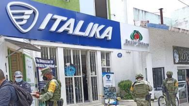 tienda de motos, Italika, asalto