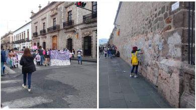 feministas, vandalismo, Morelia
