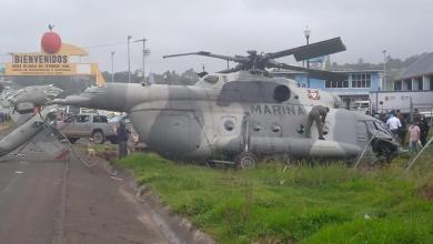 accidente, helicóptero, Secretaría de Marina