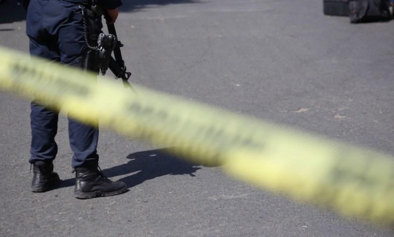 inseguridad, zona acordonada, escena del crimen