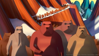 El gran cuento de los osos, película