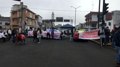manifestación, bloqueo,IDPEM