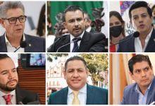 Los suspirantes, cooordinadores parlamentarios