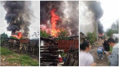 incendio, Praderas del Sur, Morelia