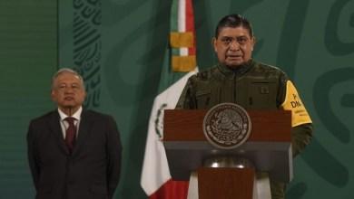 El general Luis Cresencio Sandoval