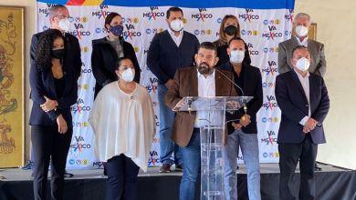 Va por México en Michoacán, diputados federales del PAN y del PRD
