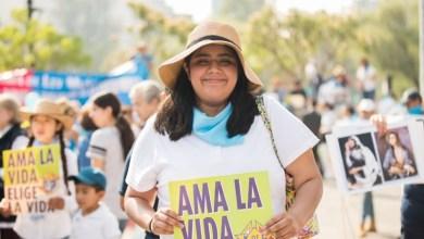 Marcha por la mujer y la vida