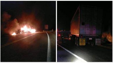 accidente, incendio, Autopista Siglo XXI