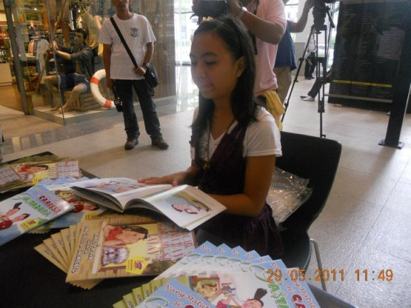 The VIPinoy Lounge will also sell the book of Xynia Guarin, a BASC member who won in the Savings Consciousness Category of Atikha's Story Writing Contest.