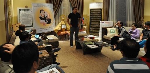 Hometown Association Meeting at Ambassador's Residence
