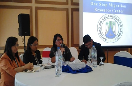 CALABARZON delegates shared their migration program and services during workshop sessions in PinoyWISE Conference