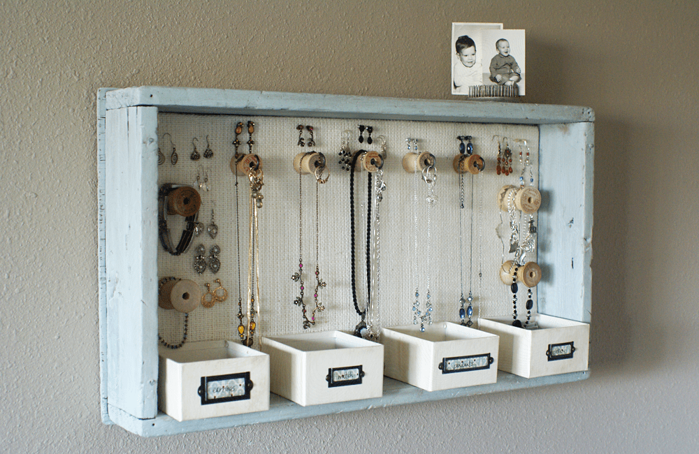 From wooden trays to hanging jewelry organizers A Time for Everything