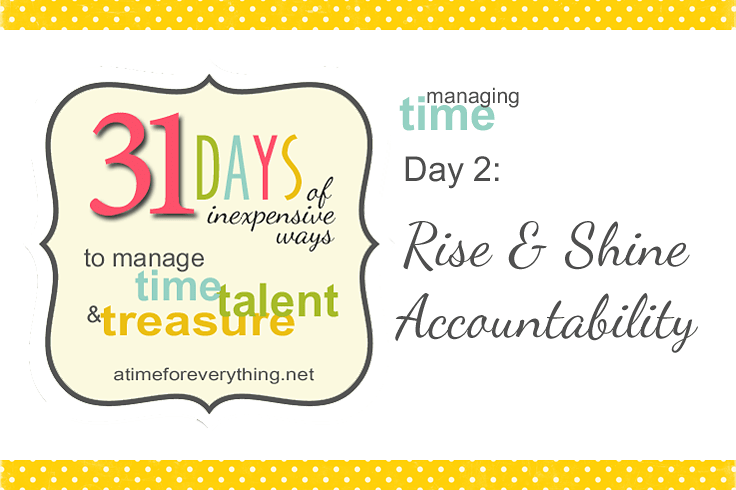 Managing Time Talent Treasure Day 2