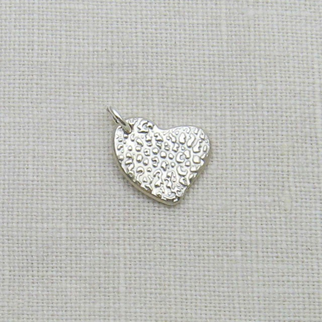 Sterling Silver Heart Charm Engraved With Your Dog S Nose