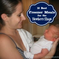 10 Best Freezer Meals for the Newborn Stage