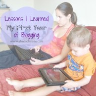 Lessons I Learned My First Year of Blogging