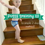 Potty Training 101 (a simple 2 day method)