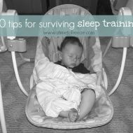 10 Tips for Surviving Sleep Training