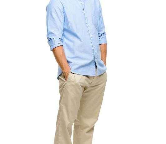 Consider khakis for your wardrobe.