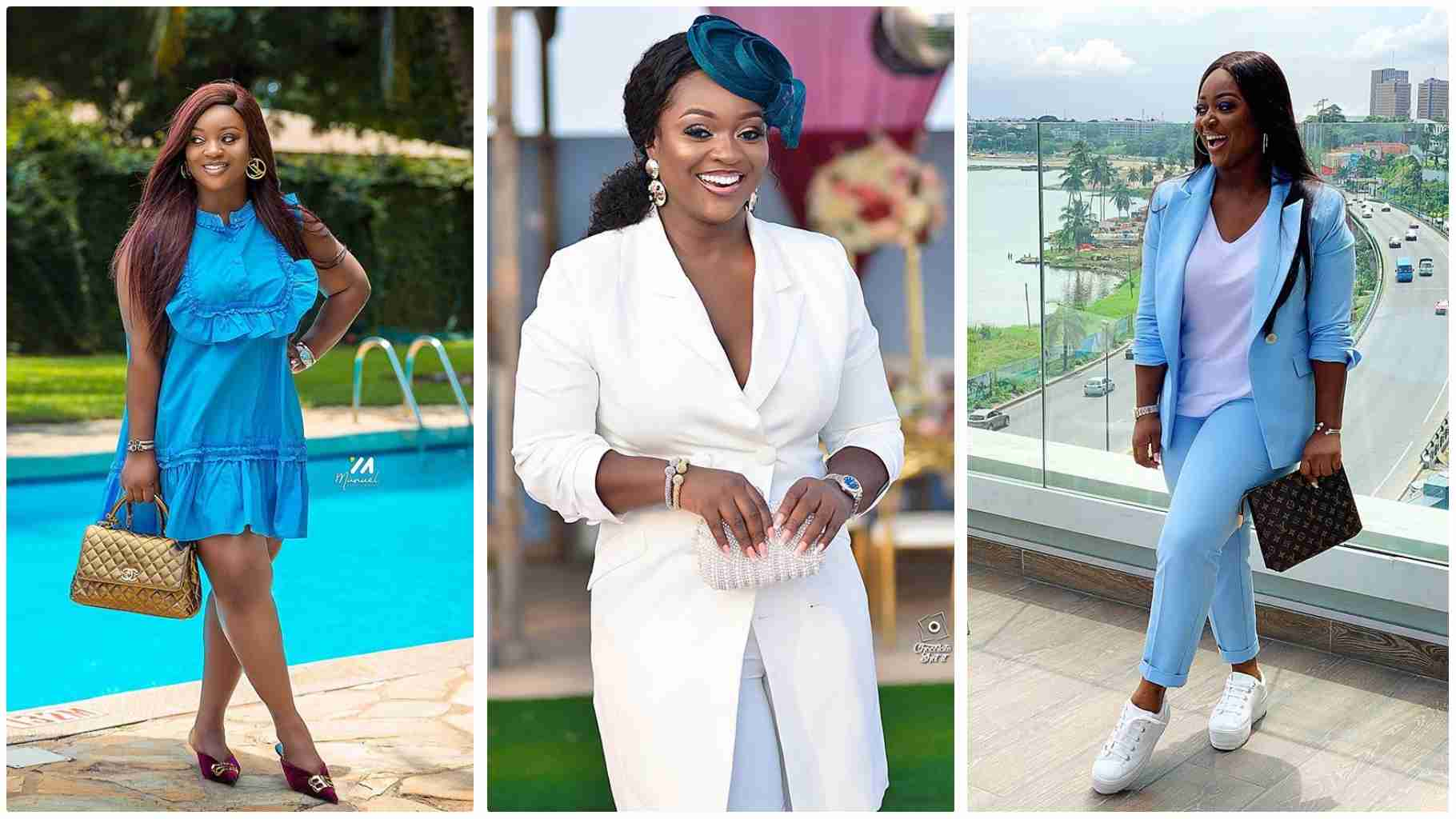 Image result for Baby Bump Video Of Heavily Pregnant Jackie Appiah Pops U