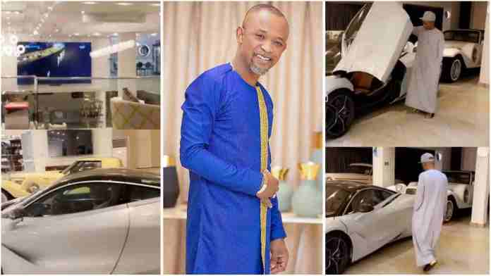 Fadda Dickson flaunts powerful cars and huge mansion in latest video
