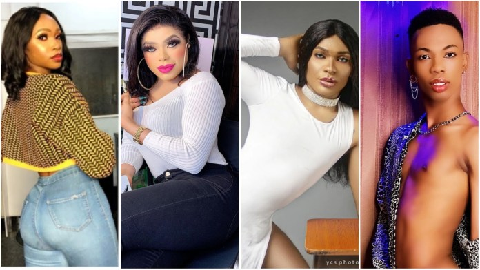 5 Nigerian cross-dressers confusing guys with their beauty on social media