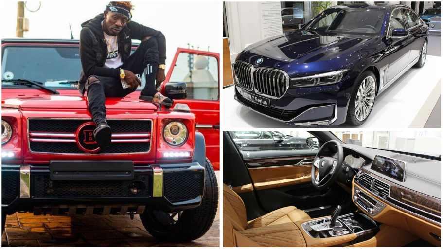 Shatta Wale receives brand new 2020 BMW as gift ; beautiful video ...