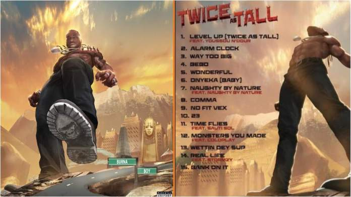 How to download Burna Boy's new  album Twice As Tall