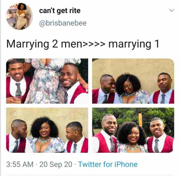 Photos: Woman Married To Two Men Reveals Why She Did That. 12