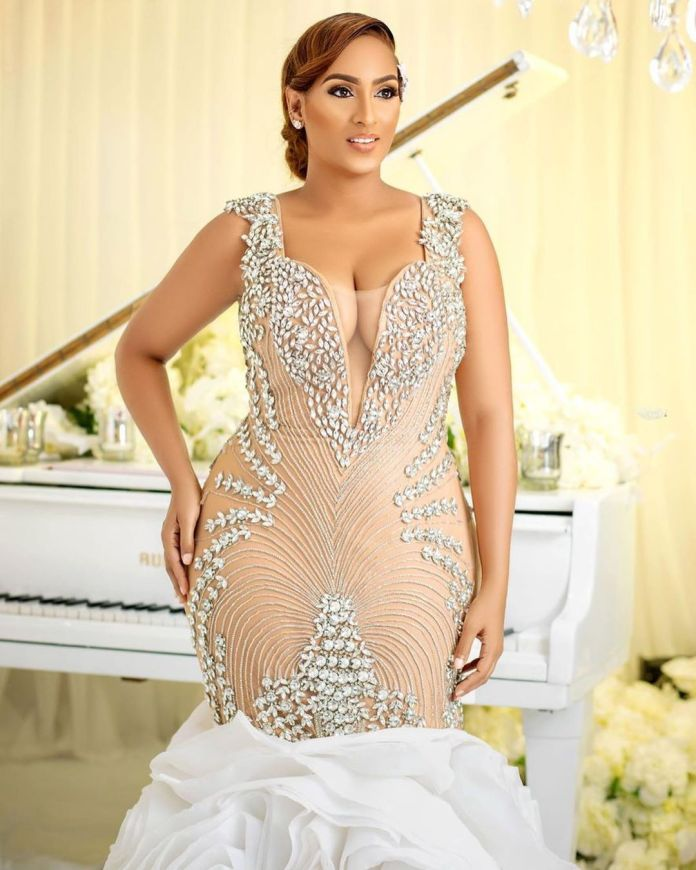 Wedding photos of actress Juliet Ibrahim