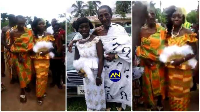 90-year-old man marries 24-year-old lady