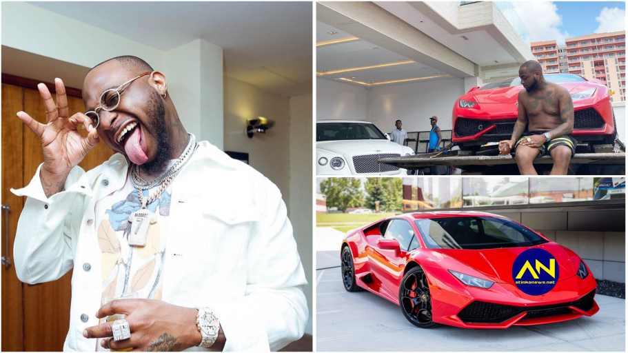 Davido Lamborghini: singer celebrates as he buys brand new Lamborghini