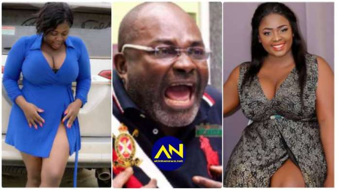 Tracy Boakye and Kennedy Agyapong latest news