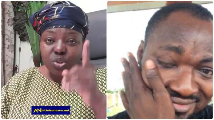 Maame Yeboah Aseidu finally speaks on beef with Funny Face [Watch]
