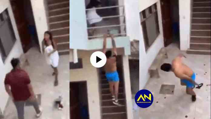 Man jumps building after being caught