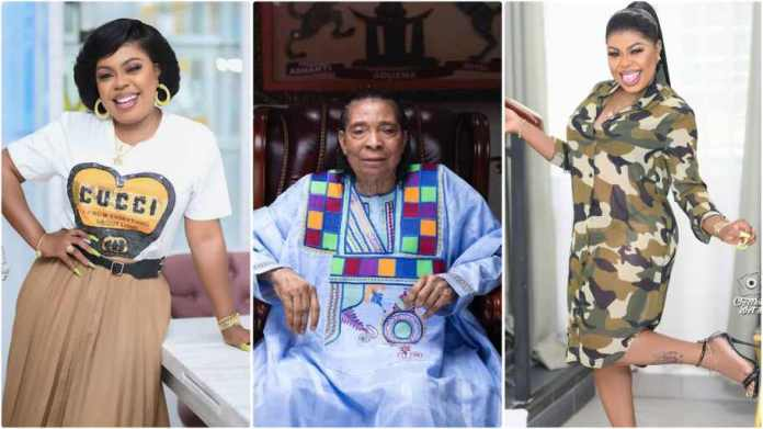 Afia Schwar reportedly cursed by Apostle Kwadwo Sarfo for insulting him