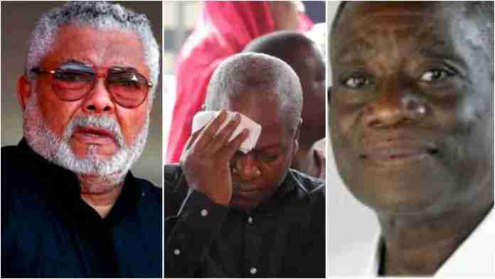"""""""The ghosts of Atta Mills and Rawlings are haunting Mahama"""" – Chairman Wontumi [Video]"""