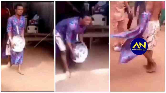 Nigerian Pastor flogged for keeping Juju