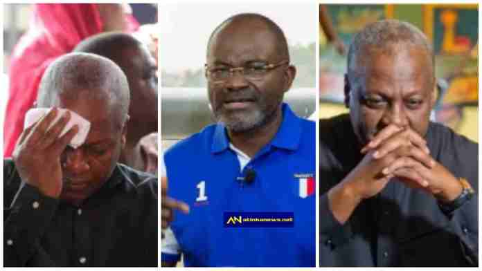 """We will burn You alive ,You are f00l """" – Kennedy Agyapong threatens Mahama [Video]"""