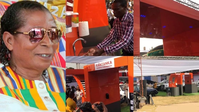 Kantanka launches an electronic COVID-19 disinfecting machine for Ghana [Video]