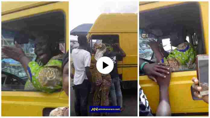 Woman hijacks commercial bus from driver