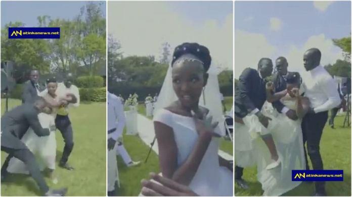Eric Omondi wedding