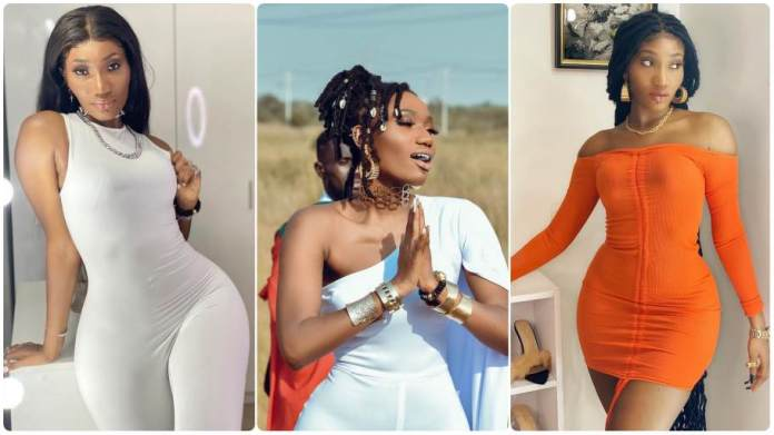 Wendy Shay turns the most beautiful girl in Ghana with her new look. [Video]
