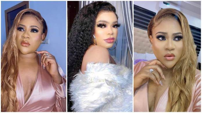 Nkechi Blessing and Bobrisky fight